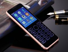Ultra Slim Luxury Touch Screen Mobile Phone