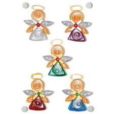 paper quilling angels