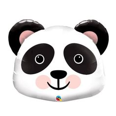 Party planning doesn't have to be panda-monium! Let fun finds like this help. Adorable for party supplies, this large Mylar balloon comes designed as . Panda Birthday Party, Panda Party, Bear Birthday, 11th Birthday, Unicorn Birthday, Mylar Balloons, Balloon Balloon, Balloon Decorations Party, Pandas