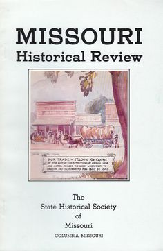 January 1981 Missouri Historical Review Magazine Bennett Champ Clark Gottfried Duden