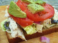 Mexican Chicken Salad Sandwich