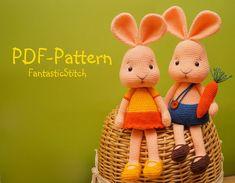 He encontrado este interesante anuncio de Etsy en https://www.etsy.com/es/listing/186380152/amigurumi-crochet-pattern-bunny-rabbit