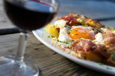 Röstkartoffel mit Spiegelei und Speck...ein Klassiker der Südtiroler Küche!