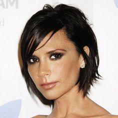 Gorgeous hair, gorgeous makeup, gorgeous person.