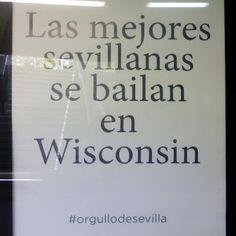Que gracioso el cartel al entrar en #metrodesevilla. Será verdad??? #aidayjuanramon #Sevilla #trabajaparati #Negocios #sueños #libertadfinanciera