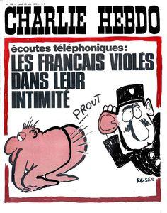 Charlie Hebdo - # 136 - 25 Juin 1973 - Couverture : Reiser