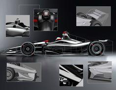 INDYCAR unveils new images of 2018 Verizon IndyCar Series car design https://racingnews.co/2017/03/29/2018-indycar-photos-released/ #indycar