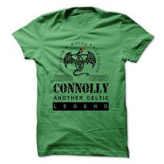 Awesome Tee CONNOLLY ANOTHER CELTIC LEGEND T shirts