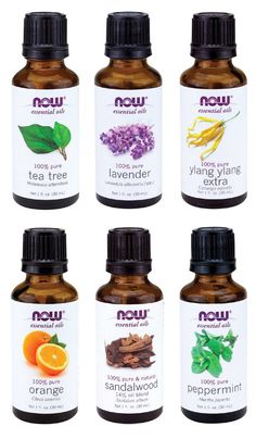 Essential oils by NOW company. Can't live w/out them, especially the Lavender.
