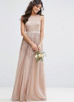 Asos Bridesmaid Dress, Short Lace Bridesmaid Dresses, Bridal Wedding Dresses, Prom Dresses, Online Shop Kleidung, Amelia Rose, Mode Online Shop, Sequin Party Dress, Sequin Maxi