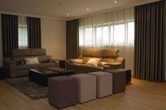 Marijke Decoratie - Gordijnen Decor, Furniture, House, Interior, Sectional Couch, Home Decor, Swimming Pools, Interior Design, Bedroom