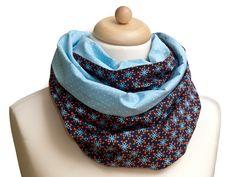 Loop - Schal  *bloomy in blue*