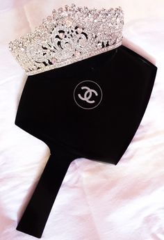 For a Queen that loves her Chanel lol (if the crown fits). Gabrielle Bonheur Chanel, Moda Chanel, Boujee Aesthetic, Princess Aesthetic, Fancy, Chanel Fashion, Rich Girl, Tiaras And Crowns, Classy And Fabulous