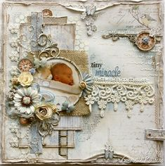 Tiny Miracles ⊱✿-✿⊰ Join 800 others & follow the Scrapbook Pages board. Visit GrannyEnchanted.Com for thousands of digital scrapbook freebies. ⊱✿-✿⊰
