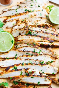 Summer Cooking : Taco Lime Grilled Chicken - Only 3 ingredients, chicken, lime juice and taco seasoning! Perfect for in tacos, on burrito bowls or topping a salad! Grilled Chicken Tacos, Grilled Chicken Recipes, Taco Chicken, Chicken With Taco Seasoning, Chicken On The Grill, Mexican Grilled Chicken, Grilled Steaks, Lime Chicken Tacos, Fajita Seasoning