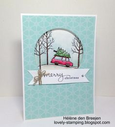 Christmas card by HélènedB - Cards and Paper Crafts at Splitcoaststampers