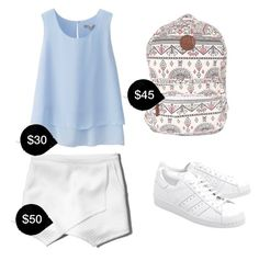 """""""My First Polyvore Outfit"""" by brakelovesmusic ❤ liked on Polyvore featuring Uniqlo, Abercrombie & Fitch, Billabong and adidas Originals"""