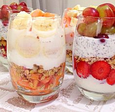 overnight oats receitas - Pesquisa Google