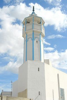 Minaret in the Clouds, Tunis | Flickr - Photo Sharing!
