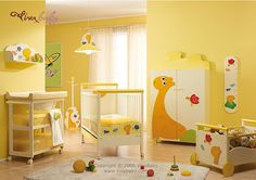 another yellow nursery