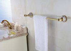 37.26$  Watch now - https://alitems.com/g/1e8d114494b01f4c715516525dc3e8/?i=5&ulp=https%3A%2F%2Fwww.aliexpress.com%2Fitem%2FGold-Polished-Brass-Bathroom-Single-Towel-Bar-Rack-Wall-Mounted%2F32387047603.html - Gold Polished Brass Bathroom Single Towel Bar Rack Wall Mounted
