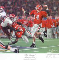 University of Georgia Bulldogs College Football Art Prints