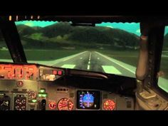 http://www.balticaa.com The view of 7 take-offs and landings in various airports and conditions was filmed in Boeing 737 full flight simulator at Baltic Aviation Academy. Pranas at the controls.