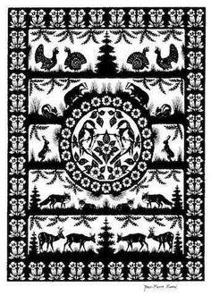 Poya suisse du XIX ème siècle. Decoupage Paper Cutting, Paper Art, Paper Crafts, Shadow Pictures, Paper Cut Design, Stencil Patterns, Kirigami, Paper Quilling, Altered Books