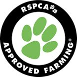 Shop humanely. If you see the RSPCA logo on a carton of eggs, packet of pork, chicken or turkey, you can be assured that animals involved in the production of these products were raised under high animal welfare standards.
