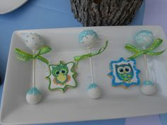 Treats for a Owl Baby Shower #treats #owl