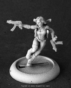 50210: Bonnie, Futuristic Heroine |  Patrick Keith