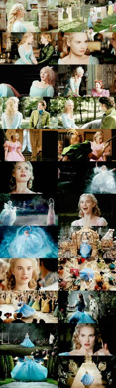 Cinderella- I'm sorry to all my followers for so many pins on this movie. I loved it so much so please bear with me.