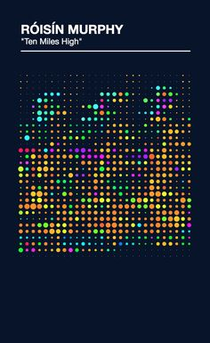 Sound as Color - Data Visualization of Music by Ronnie Pence http://ronniepence.com/work/soundascolor