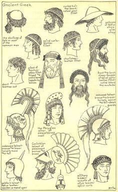 Facial hair of acient romans images 621