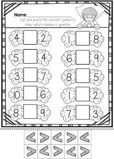 6 Worksheets Counting Back Skip Counting Kindergarten Worksheets Comparing Numbers Worksheets-Distance Learning Packet For Kindergarten, Math Worksheets For Kids Comparing Numbers Kindergarten. Kindergarten Math Worksheets, School Worksheets, Math Activities, Kindergarten Addition, Numbers Kindergarten, Printable Worksheets, Math Stations, Math Centers, Niklas