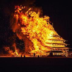 burning man art installations