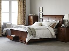 Juliet Queen Bed Frame with storage base main product image 1
