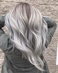 """2,185 Likes, 28 Comments - Cadillac Michigan✂️HairStylist (@catherinelovescolor) on Instagram: """"❄️Icy Silver Locks❄️ #behindthechair #btconeshot_colormelt17 #btconeshot_hairpaint17…"""""""