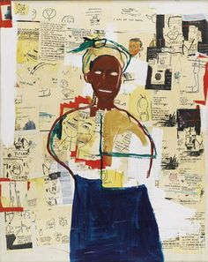 Jean-Michel Basquiat: Joy (1984).
