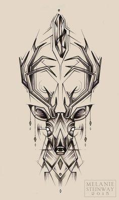 Resultado de imagem para deer design
