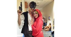 Dread Pirate Han Solo and Princess Buttercup Leia —  Star Wars/Princess Bride