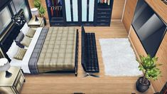 Sims Free Play, Sims House, The Sims, Floor Chair, Home Furniture, Interior Decorating, House Ideas, Flooring, Building