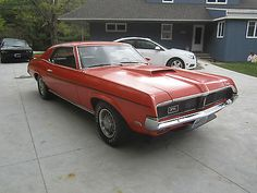 "1969 Mercury Cougar Eliminator, 351 4v Windsor V8/T10 4 speed/3.25 9"" Axle"