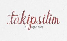 """36 Best Filipino Words—A personal favorite is, """"dapithapon"""", similar to """"takipsilim"""", it means dusk. Unusual Words, Rare Words, Unique Words, Cool Words, Filipino Words, Filipino Quotes, Filipino Tattoos, Filipino Art, Filipino Culture"""