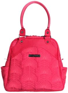 Amazon.com : Petunia Pickle Bottom Embossed Sashay Satchel- Central Park North Stop Special Edition : Diaper Tote Bags : Baby