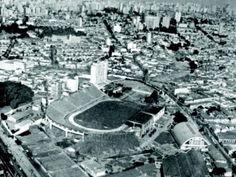1964 - Parque Antártica, estádio da S.E. Palmeiras no bairro da Pompéia.