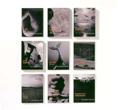 The twenty-two book series is designed by Angus Hyland and published by Canongate Books