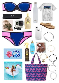 """""""pool/beach day!!"""" by mheidrick03 ❤ liked on Polyvore featuring Victoria's Secret, Under Armour, Sun Bum, S'well, LifeProof, Melissa Joy Manning, Lilly Pulitzer, Patagonia, GoPro and Matouk"""