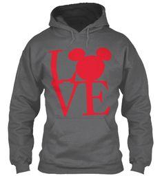 Boys Valentine Shirts Dark Heather Sweatshirt Front