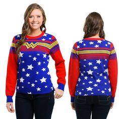 Wonder Woman Tunic Sweater